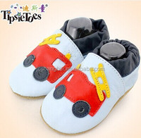 2015 HOT selling 0 - 6 Baby KIds Soft Sole prewalk moccasins branded shoe