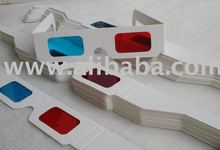 HQ Red Cyan Paper 3D Glasses
