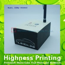 2015 Innovation Is Novel In Black Memo Cube With A Pen