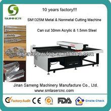 En acier inoxydable/aluminium/fer/cuivre/métal découpe laser prix de la machine