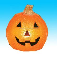 resin artificial craft halloween pumpkin for sale