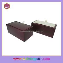 Packaging cheap cardboard cufflink boxes wholesale paper cufflink box