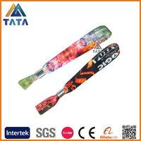 TATA Heat Transfer Polyester Aluminum Buckle Wristband Bracelet