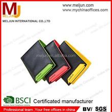 Meljun pasaporte billetera money clip wallet carpeta de aluminio