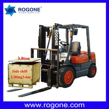 Chinese Brand New 3 Tons Diesel Forklifts for Sale/Diesel Powered Hydraulic China and Japan Engine Lift Truck(with CE)
