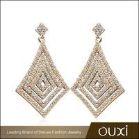 OUXI AAA Cubic Zirconia Alloy Jewelry Drop Earring whoelsale 20821-1