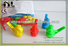 plastic water birds whistle / plastic whistle toys / plastic toys
