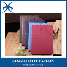 pu leather A5 Notebook pattern printing notebook and diary OEM available