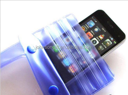 high quality strengthening mobile phone pvc waterproof bag for Smart cell phone bag