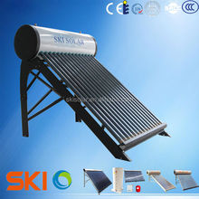 2015 copper coil Thermosyphon solar water heater for system SKI- NTA (CE Approval)