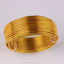 HR FACTORY 2mm colored craft aluminum wire ,oxidation aluminum wire