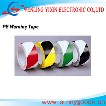 Red and White PVC Caution Tape