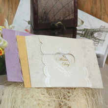 2015 Wholesale fashion lovely birthday greeting CARDS, wedding invitation card