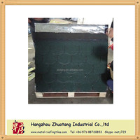 Asia Green Fish-scale Asphalt shingle, Architectural Roof Tiles