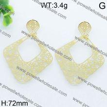 Very cute and elegant big earrings uk english lock big earrings