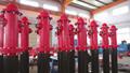Seco hidrante barril para combate a incêndios 6''