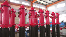 Dry Barrel hydrant for fire fighting 6''