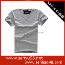 100% pima cotton blank t-shirt manufacture in China factory