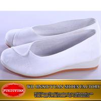White color wholesale unique woman nurse shoes from China