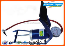 Multi usage auto accessories single cylinder bike foot tire pump