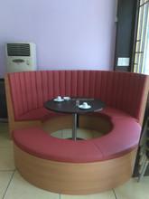 New Design Restaurant Furniture Half circular Booth&Restaurant Table
