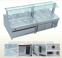 Cold& warm buffet display /buffet equipment