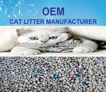 Bentonite Cat Litter OEM Manufacturer