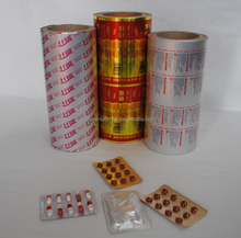 Printed and unprinted capsules use 8011 aluminium foil pack