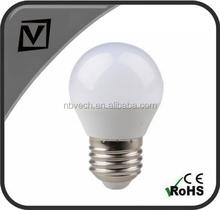 E27 5W G45 LED bulb light, cheap price, 400lm, CE/EMC passed