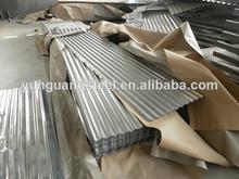 de hierro corrugado hojas de zinc contenedores de láminas para techos