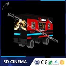 Lechuang Good Quality High-Tech Truck Mobile 5D Simulator Cinema