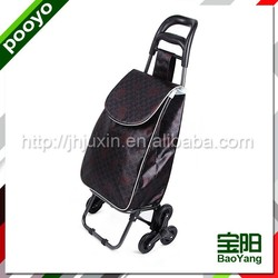 folding hand trolley plastic crate with locking cover