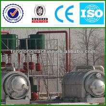 Newest Design Crude/Waste Oil into Diesel and Gasoline Distillation Equipment with CE&ISO&BV