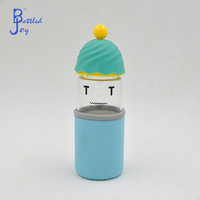 novelty gifts unbreakable antique borosilicate glass water bottle for drinking