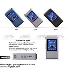 Top seller 60w Kamry60 box mod TFT color screen wholesale e cigarettes made in usa