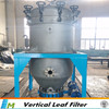 Carbon steel vertical pressure leaf filter