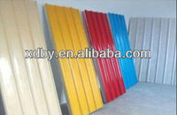 Pre-paint 76.2mm Pitch of corrugation Galvanized Steel Sheets roofing sheet