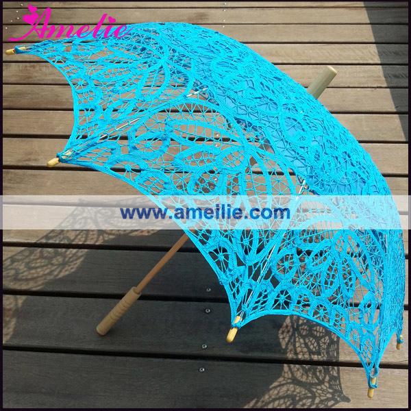 A0104 Royal blue lace parasol (3).jpg
