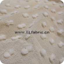 Clipped Silk Cotton Fabric Wheat Colour or OEM any colour Stock X123 ONE meter MOQ