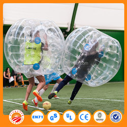 Factory directly sale bubble football 2015 bumper ball tpu for sale