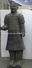 2012 the best sale Chinese small warrior statue