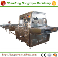 The fast food equipment Chocolate coating snack food factory processed food machine