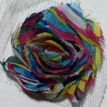 baby hair animated rose flowers girls hair accessories for clothes