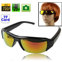 HD 720P or 1080P sunglasses camera colors or black Myopia 5.0 Mega Pixels Digital Camera Eyewear