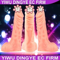 Big Realistic Dildo Artificial Penis Adult Toys Sex Products Sex Toys Flesh Suction Cup ejaculating Dildo