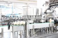 New Design Milk/ Juice Automatic 3 in 1 Aluminum Foil Filling Machinery