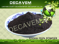 Iron Fertilizer EDDHA Fe 6 (ortho-ortho 1.8, 2.4, 3.0, 3.6, 4.8%), chelated iron eddha 4.8% fertilizer