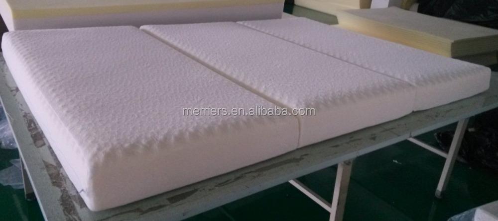 Wholesale camping foam mattress foldable foam mattress