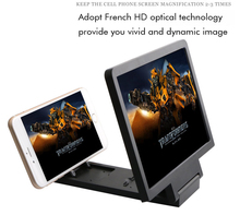 Portable 3D Enlarged Screen Mobile Phone Folding HD Amplifier Bracket Stand for Smartphone