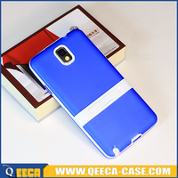 New products for samsung galaxy note 3 pc tpu stand cover case note 3